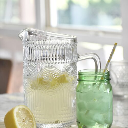 sweet southern style old fashioned lemonade recipe
