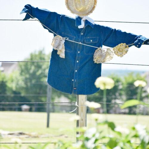 diy garden scarecroW
