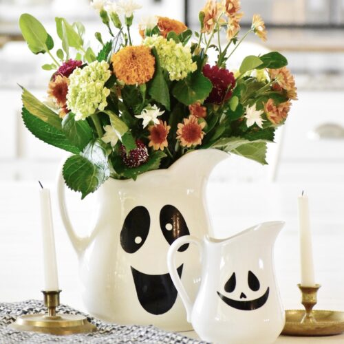 spooky ghost centerpiece