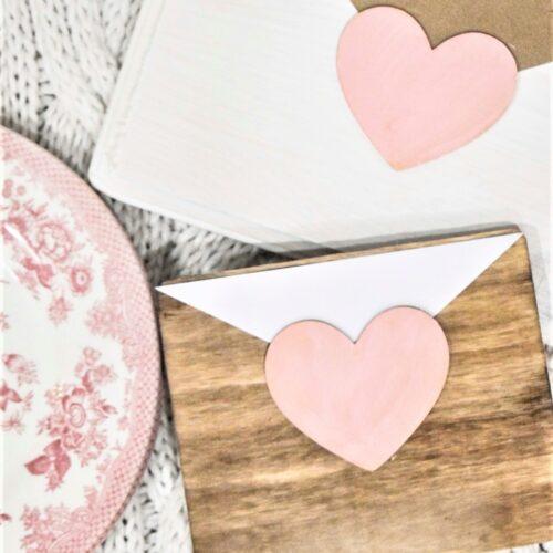 easy wooden love letter valentine  diy