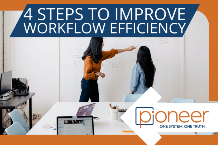 working with your team to improve workflow efficiency