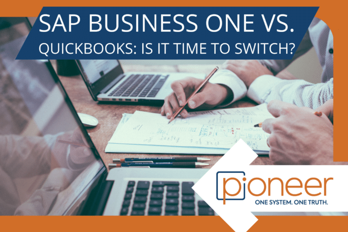sap business one vs quickbooks