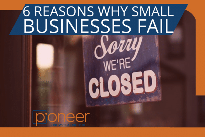 sorry we're closed sign on store front - why small businesses fail