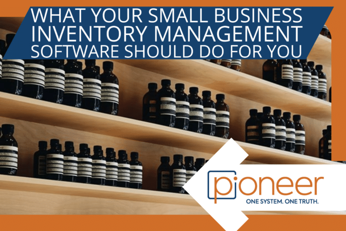 best inventory management software - brown bottles on a shelf