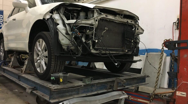 Damaged Car getting an estimate