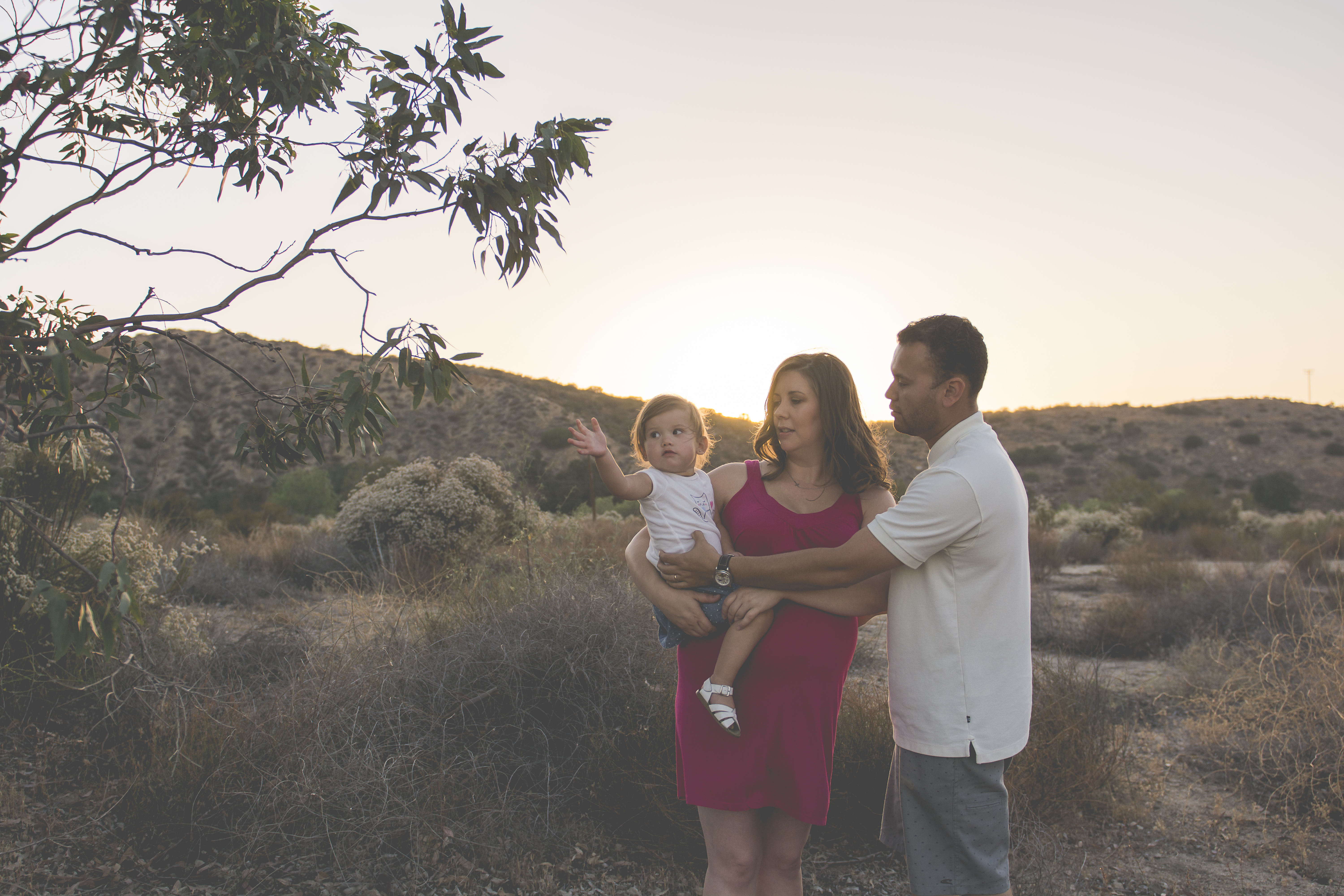 Outdoor Family Maternity Photos