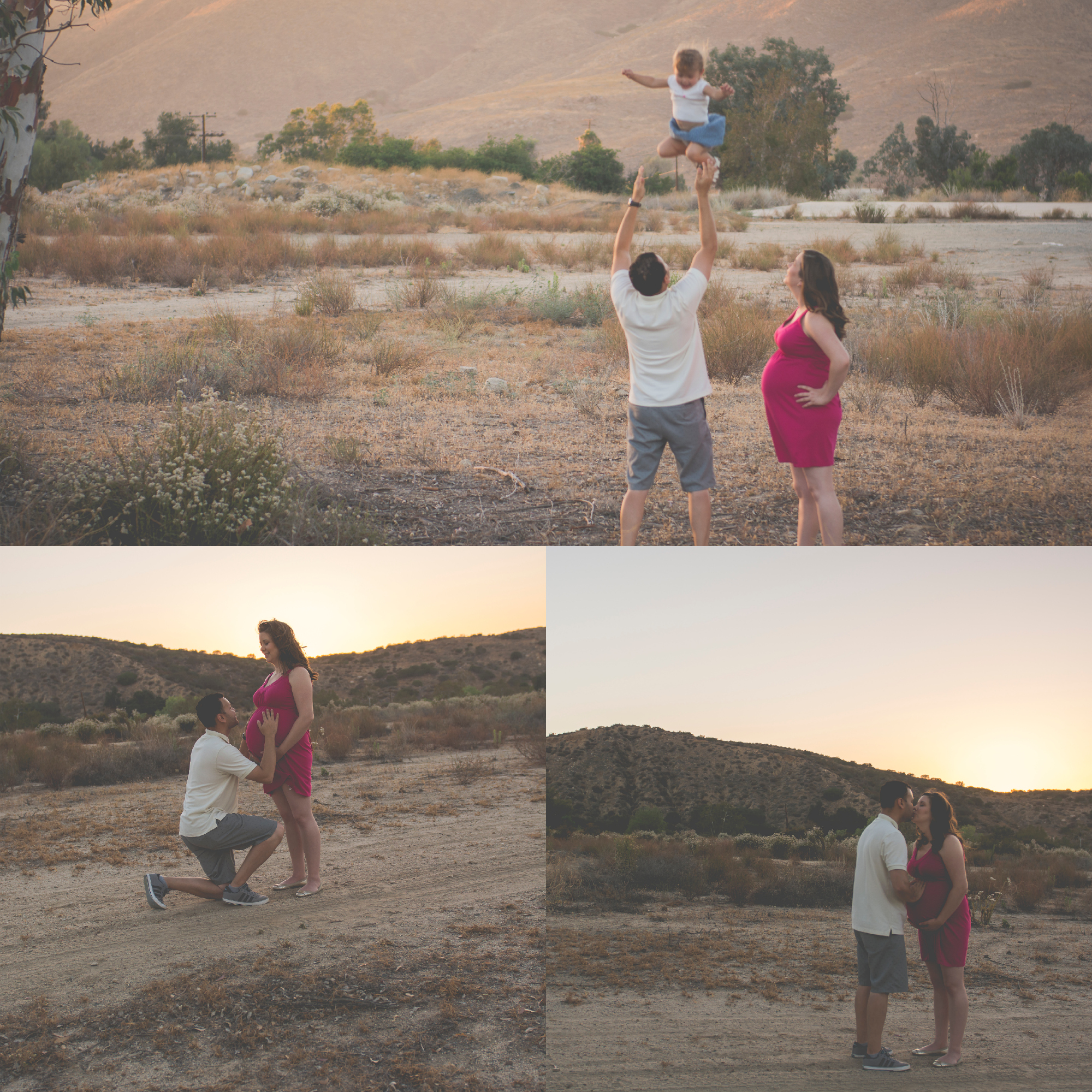 Outdoor Maternity Family Photos