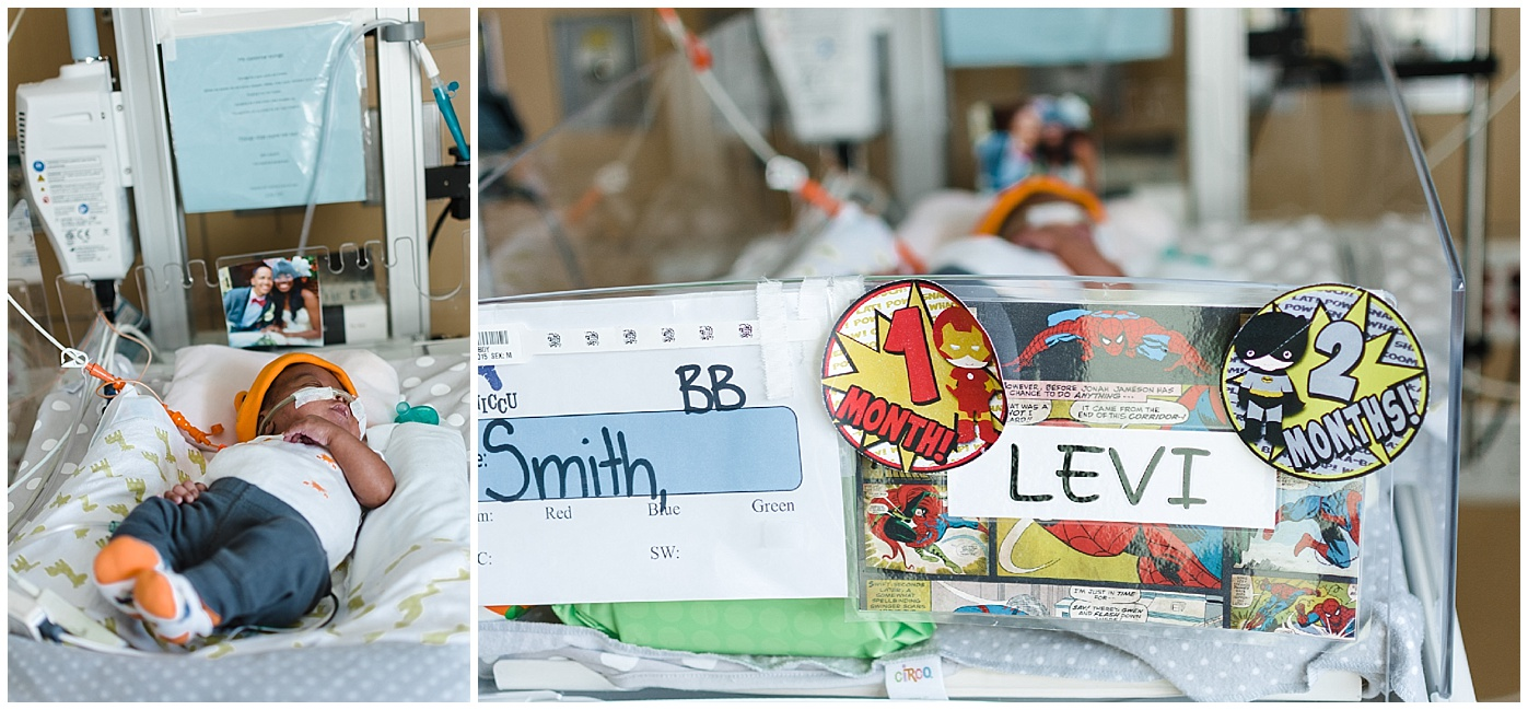 los angeles documentary family photography NICU hospital captured grace by erin