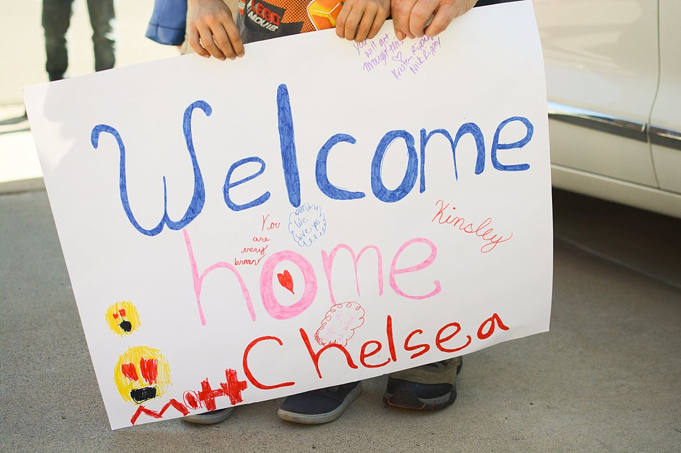 welcome home balloon homecoming las vegas shooting victim Chelsea Romo Captured Grace by Erin