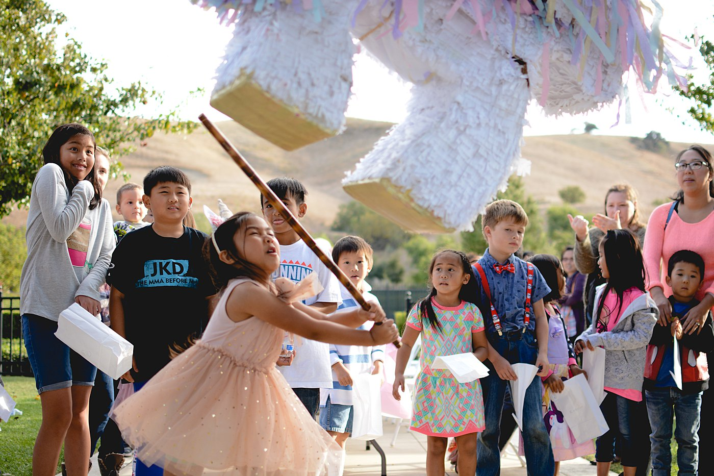 Unicorn birthday party vellano park chino hills captured grace by erin event photography