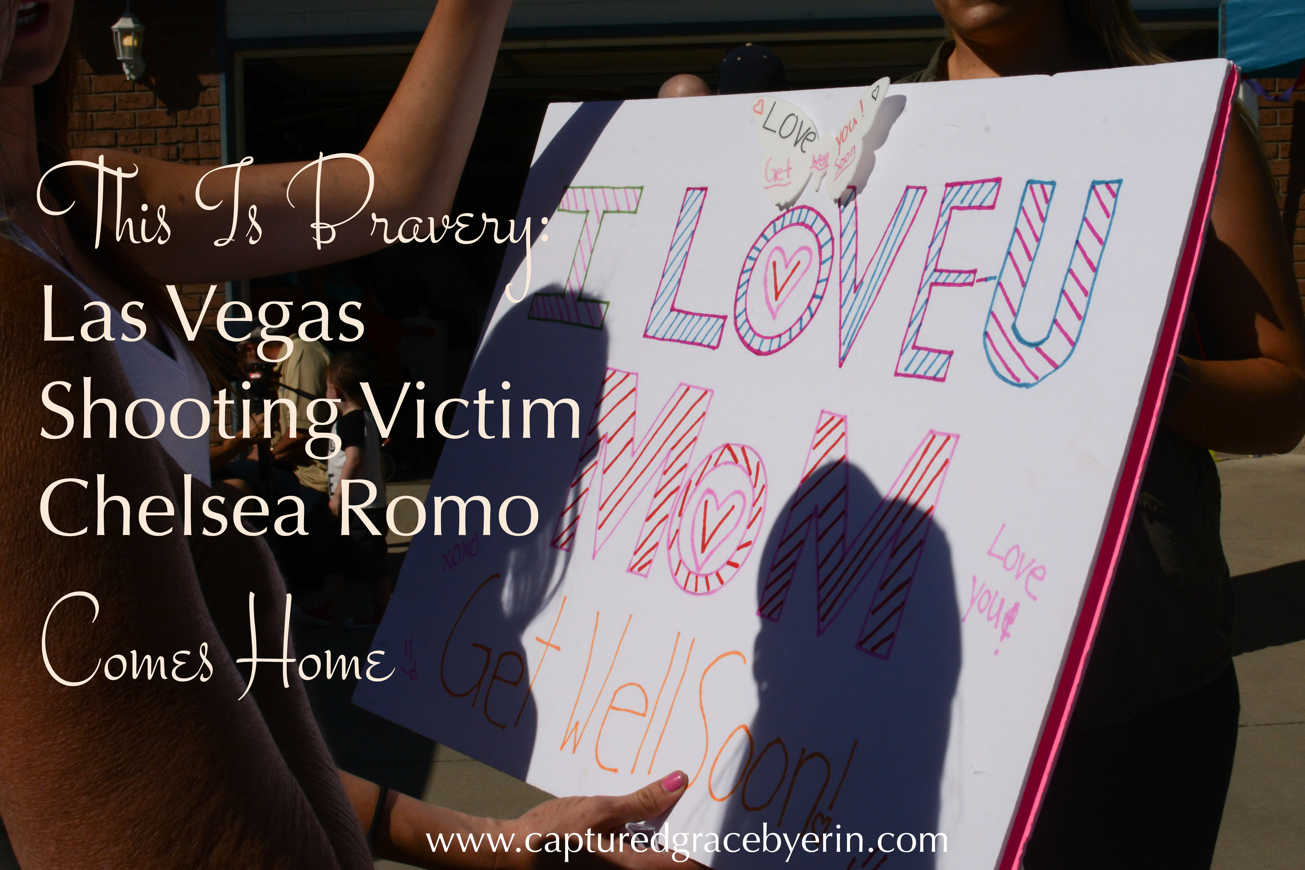 las vegas shooting victim chelsea romo homecoming