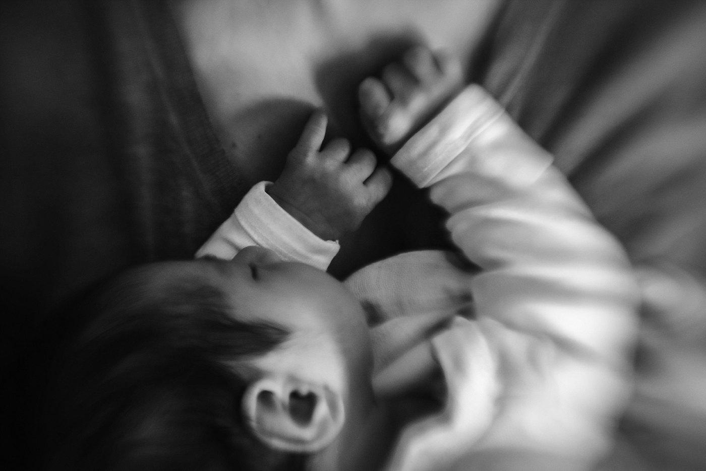 newborn fingers and hands redlands newborn photographer
