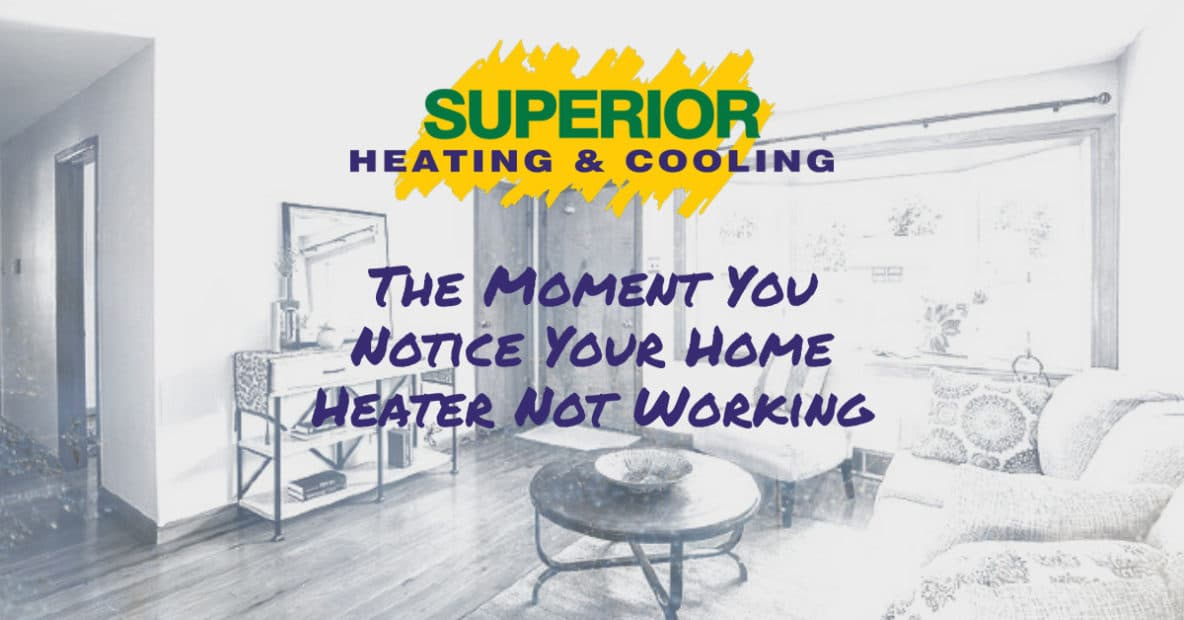 home heater not working