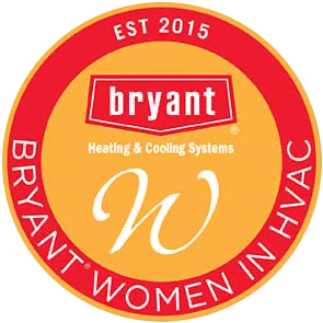 woman in hvac logo
