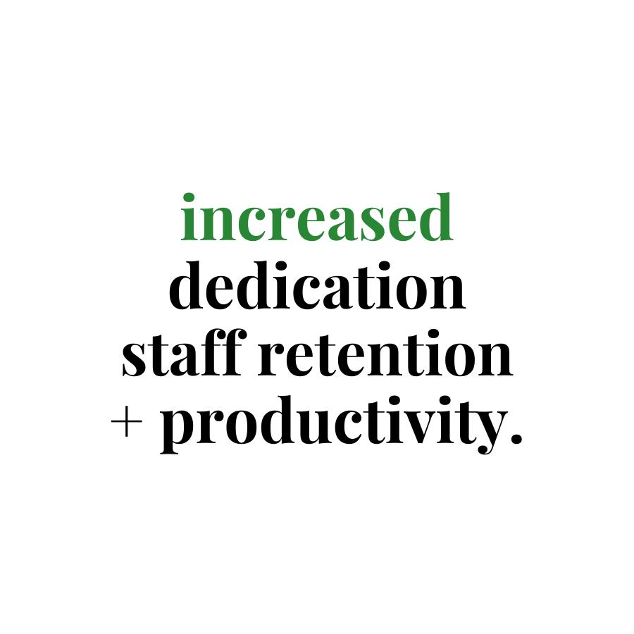 increased dedication benefit of flexible working