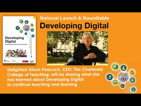 The Developing Digital Launch - Alison Peacock - The Chartered College Perspective