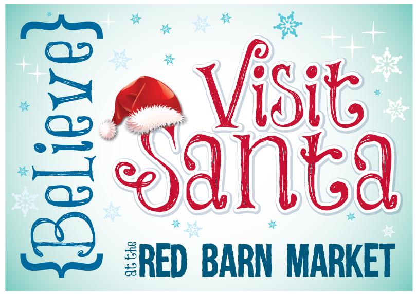 Believe Santa at Red Barn Market