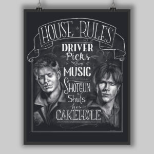 House Rules Chalk