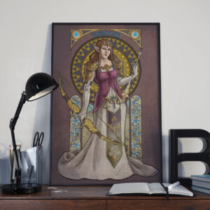 Legend of Zelda – Wisdom – Princess Zelda Print