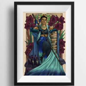 Critical Role – Pride and Disaster – Beauregard Print