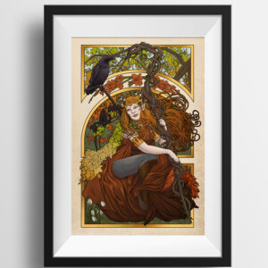 Critical Role – All Of These Things I've Learned – Keyleth Print
