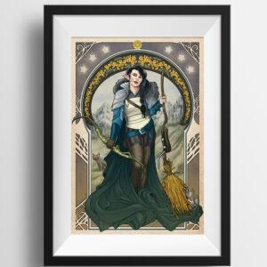Vex'ahlia framed print example