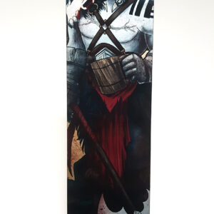 Critical Role – My Strength Is In My Friends – Grog Metal Bookmark
