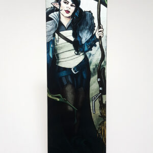 Critical Role – The Only Way to Really Grow – Vex'ahlia Metal Bookmark