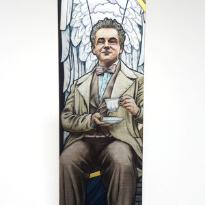 To The World – Good Omens Azeriaphale Metal Bookmark