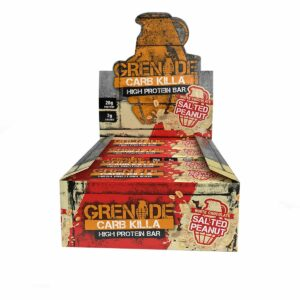 Grenade salted peanut supplement protein