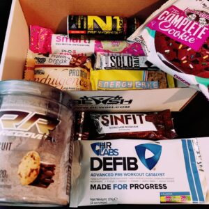 Bulking diet supplements box