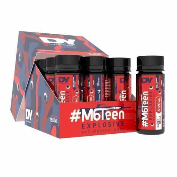 #M6Teen Explosive Pre-Workout Shot, Mojito - 12 x 60ml.