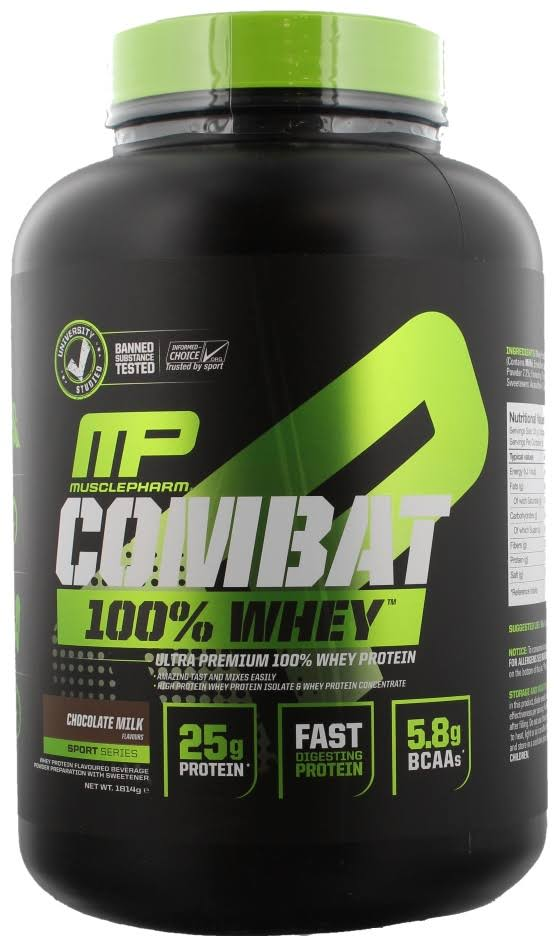 Combat 100% Whey, Strawberry - 1814g