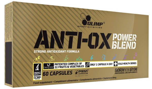 Anti-OX Power Blend - 60 caps