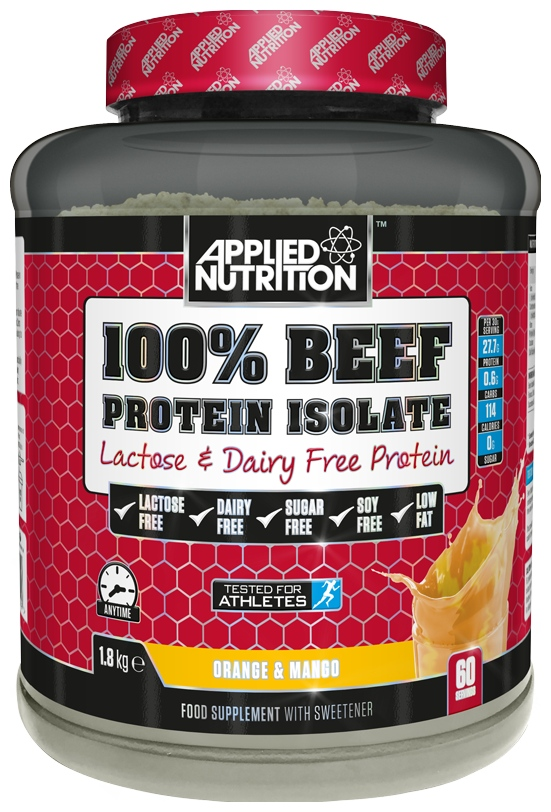 100% Beef Isolate, Chocolate Orange - 1800g
