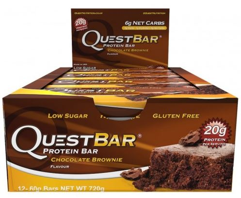 Quest Bar, Chocolate Brownie - 12 bars
