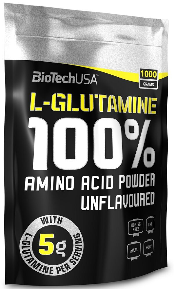 100% L-Glutamine, Unflavoured - 1000g