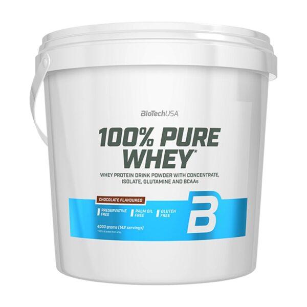 100% Pure Whey, Chocolate - 4000g
