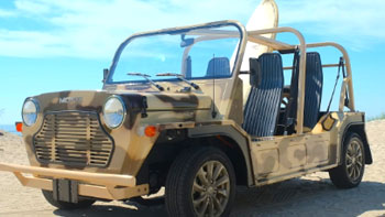 Hit the Beach in your Moke!