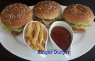 How to Make a Zinger Burger | Step by step