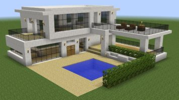Minecraft How To Build a Modern House