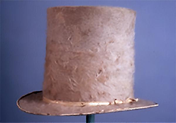White Beaver Hat