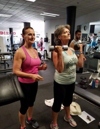 Sandra and Barbara Jogoleff