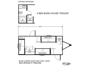 Bunk House Trailers - Offered for Sale- Rugged, Reliable, Refined