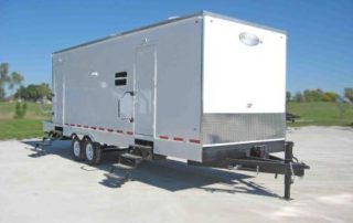 oil field trailer gallery exterior