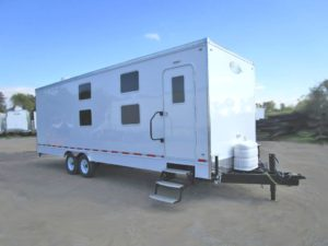 bunk bed trailer exterior