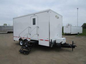 drug testing trailer exterior