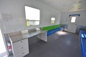 cool down trailer desk