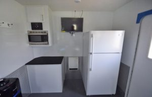 cool down trailer kitchen
