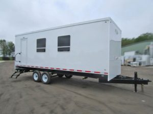 mudd logging trailer exterior